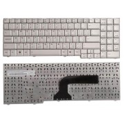Клавиатура Asus A7, G2, G50, G51, G70, G71, L50, M50, M70, Pro58, X55, X57, X70, X71 Серебряная