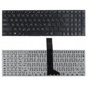 Клавиатура Asus X501, X501A, X501U, X550, X550C, X550D, X550E, X550I, X550J, X550L, X550V, X550W, X550Z, X552, X552C, X552E, X552L, X552M, X552V, X552W, K550C, K550D, K550J, K550L, K550V, K552, A550, D552, F501, F550, F552, R510, R513 Черная, без рамки