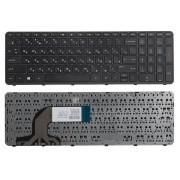 Клавиатура для ноутбука HP 350 G1, 350 G2, 355 G2 Чёрная, с рамкой